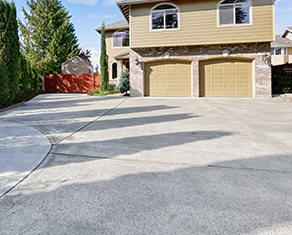 concrete driveway 27 - Concrete Deck and Patio
